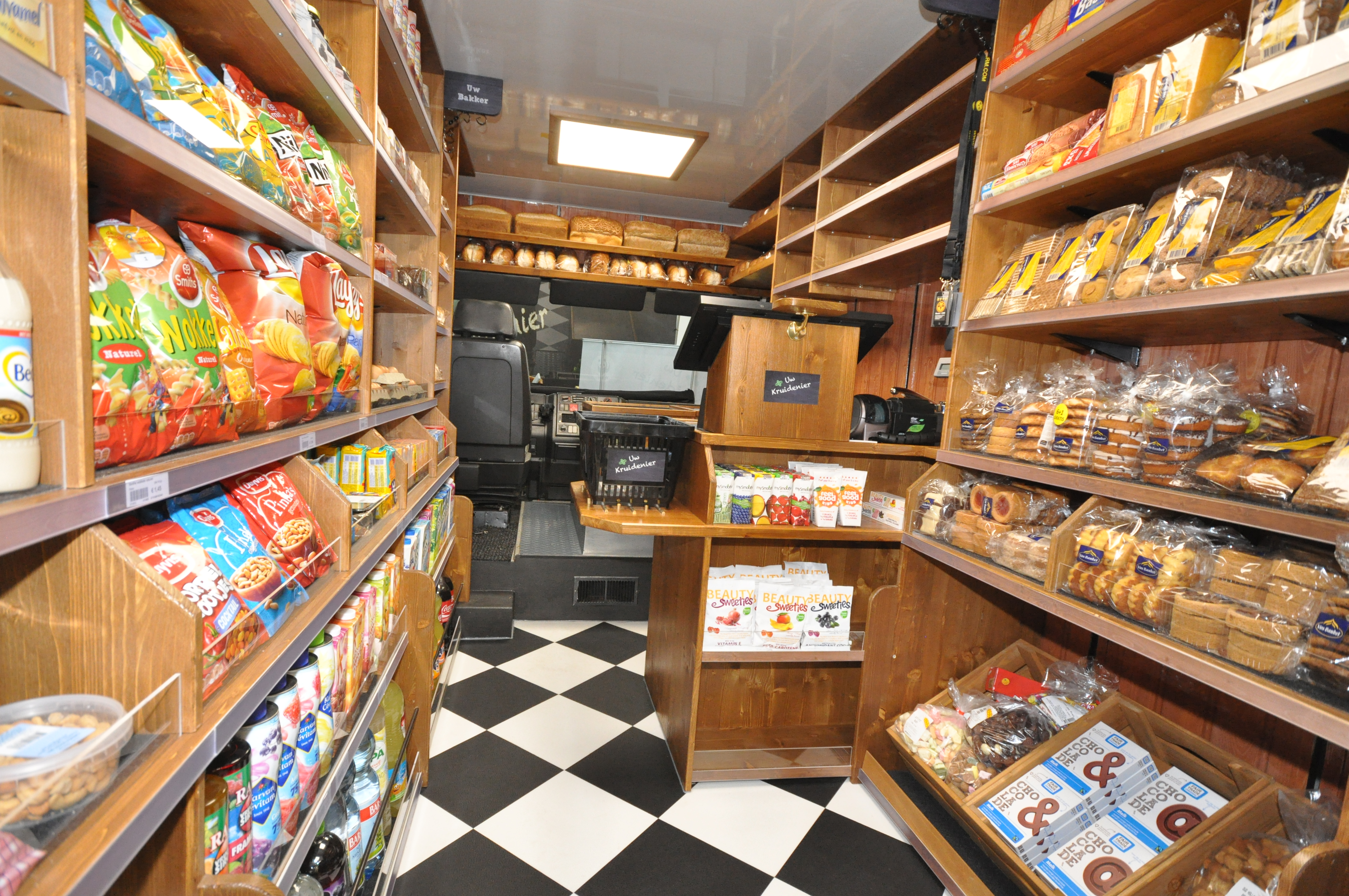 Uw kruidenier for Interieur winkel
